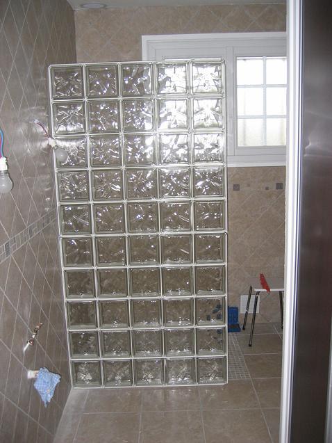 R novation salle de bain ch risy 28 64 messages page 3 - Poser des briques de verre dans une cloison ...